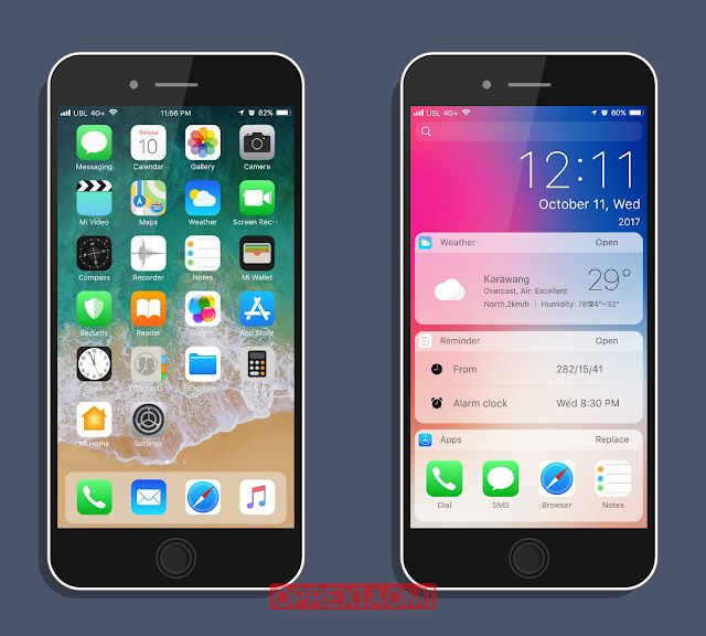 Update MIUI V9 Theme iOS 11 Mtz Touch You v1 0 Full Version