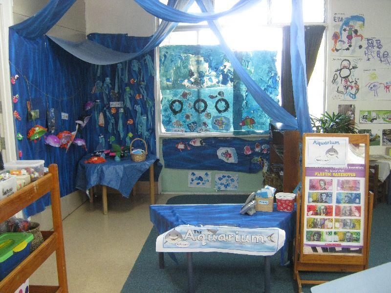 Classroom Aquarium Ideas : Aquarium role play area classroom display photo