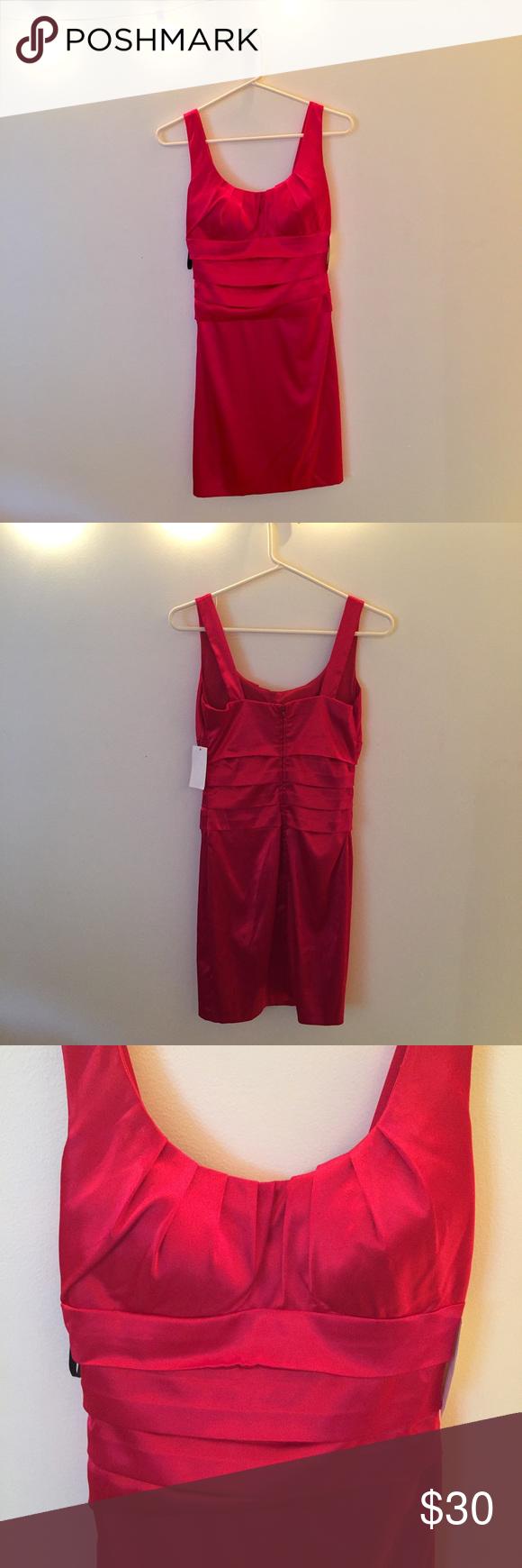 Nwt b darlin red bodycon mini dress nwt my posh picks pinterest