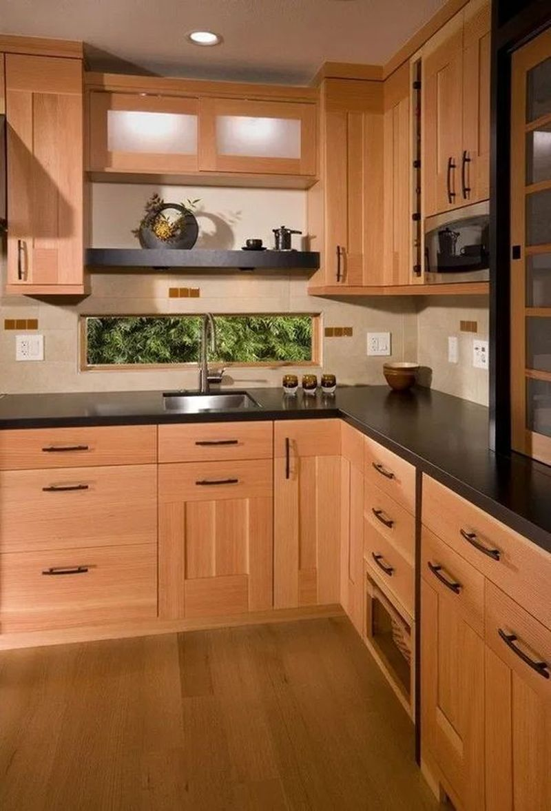 40 Affordable Kitchen Cabinet Design Ideas That Make Your Kitchen Looks Neat Cluedecor In 2020 Wooden Kitchen Cabinets New Kitchen Cabinets Kitchen Style