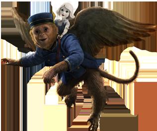 Geflügelte Affen