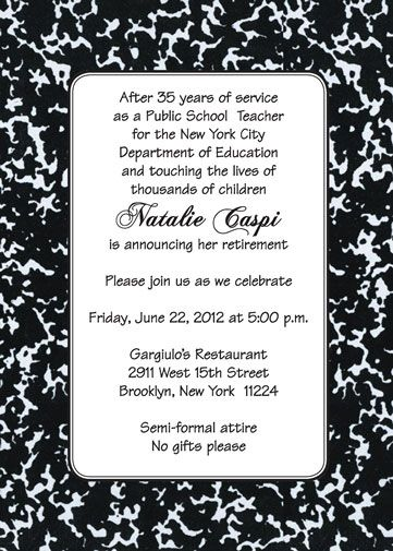 funny retirement invitations for teachers retirement party
