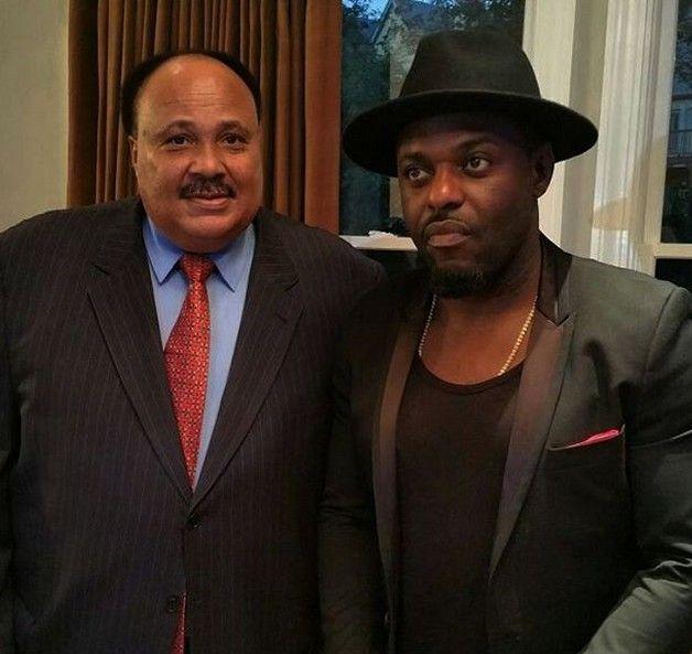 Jim Iyke Meets Martin Luther King III (Photo) - Celebrities - Nigeria