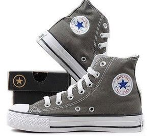fc425af0422 Converse All Star High Tops in Charcoal Gray. Yes please #exmaslist size 10  in women please