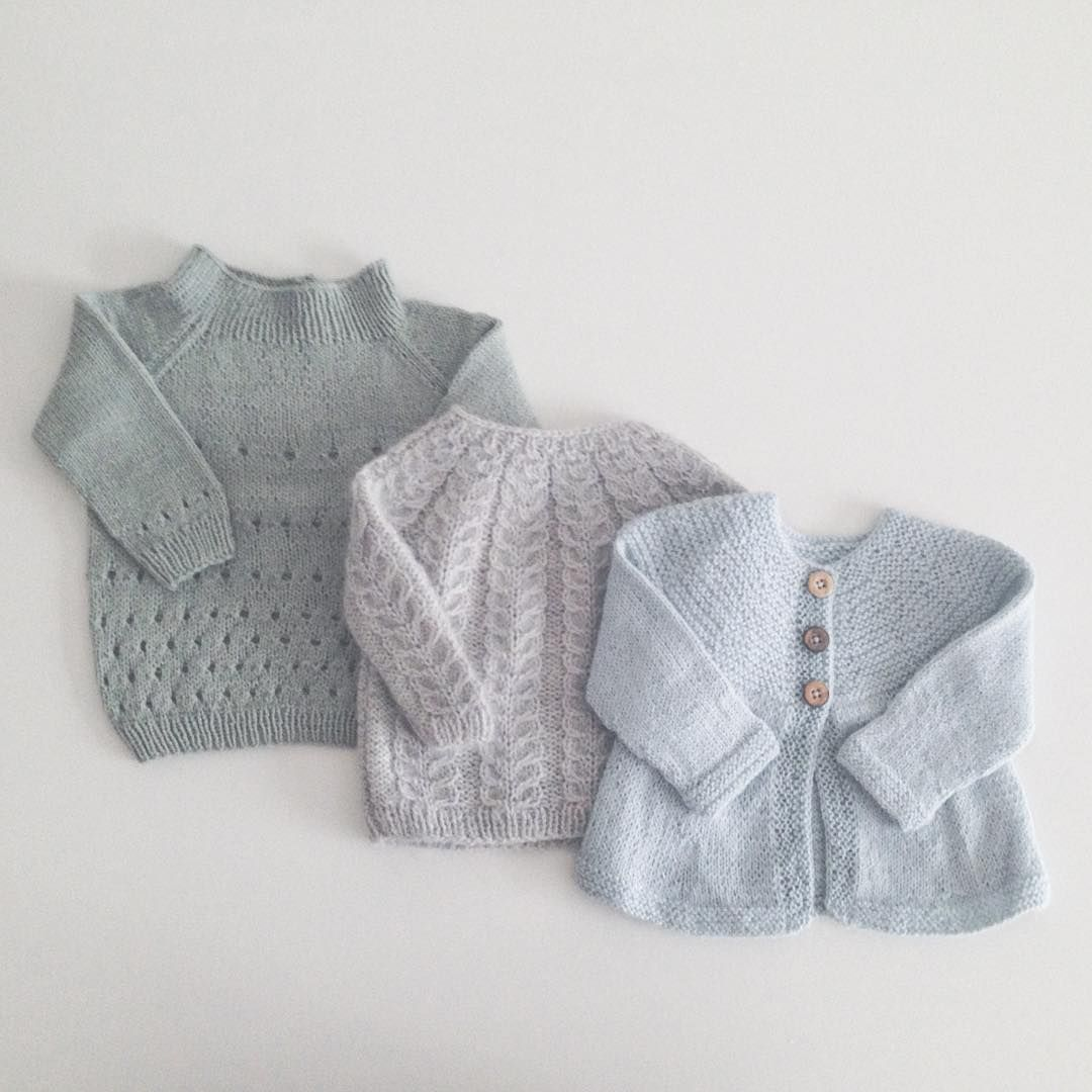 «Strikkefarvoritter - hultrøjen kommer snart som opskrift  #nordiskbyvelling #handmade #snoningstrøje #strik #knitting»