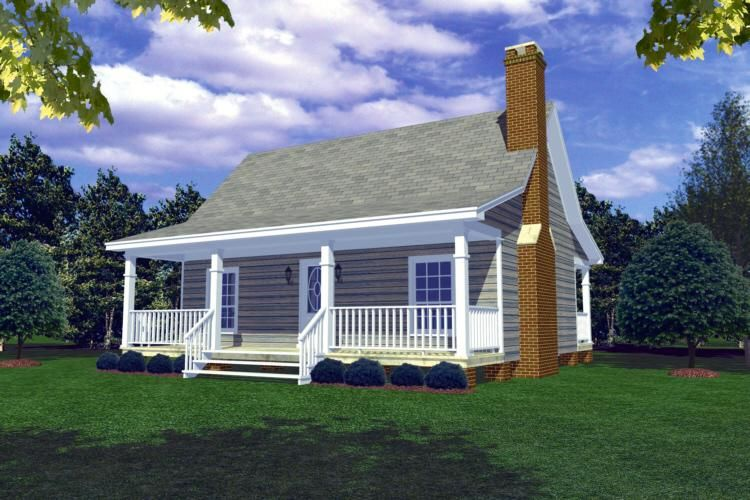 Cottage Plan 600 Square Feet 1 Bedroom 1 Bathroom 348 00166 Vacation House Plans Cottage Plan Building A Small House