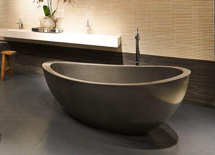 20 Bathroom Designs With Stunning Stone Tubs Stone Bathtub Free