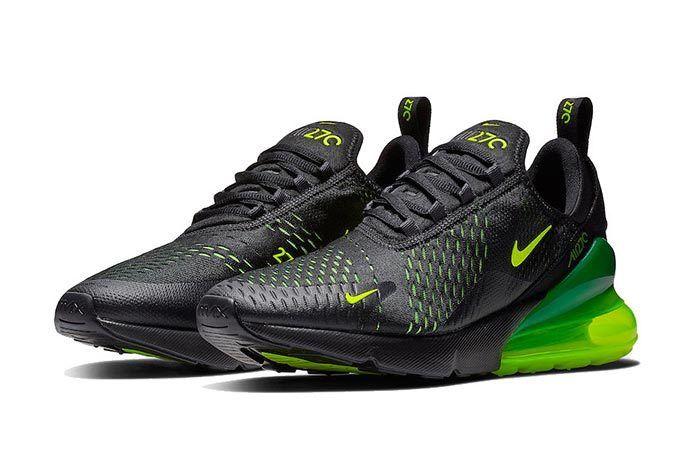 huge selection of 7483d 287b0 Nike Air Max 270 Back in Black... And Volt - Sneaker Freaker