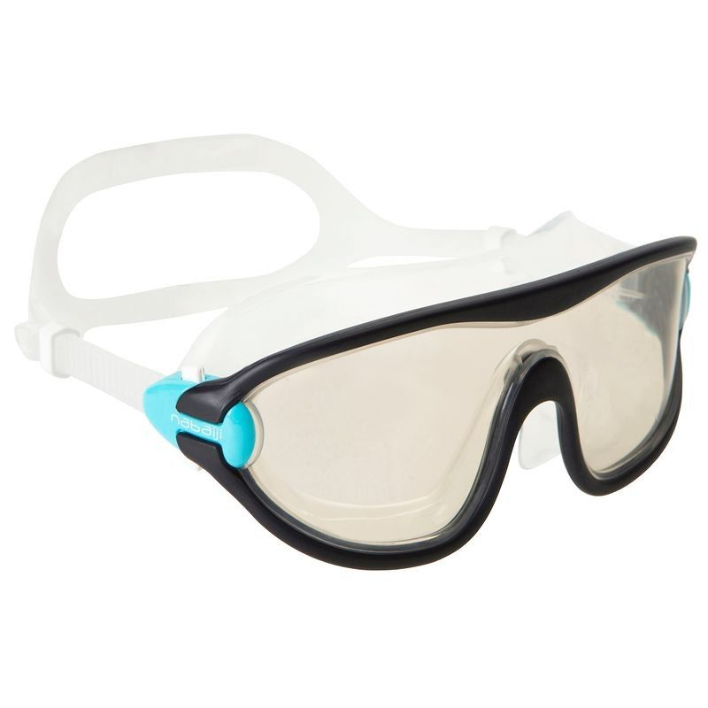 1a96bf9d7096e1 simple lunettes masque natation swimdow grand photoc bleu navy nabaiji with  decathlon piscine