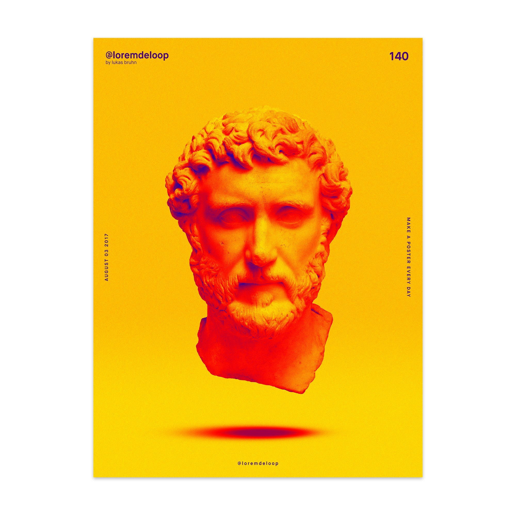 Day 140 Print Enhanced Matte Paper Poster