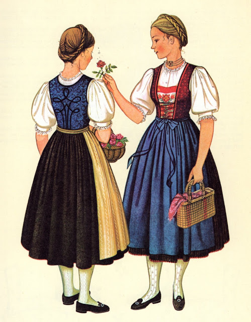 What Are German Dresses Called