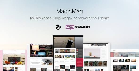 MagicMag - Multipurpose Blog/Magazine WordPress Theme - Blog / Magazine WordPress