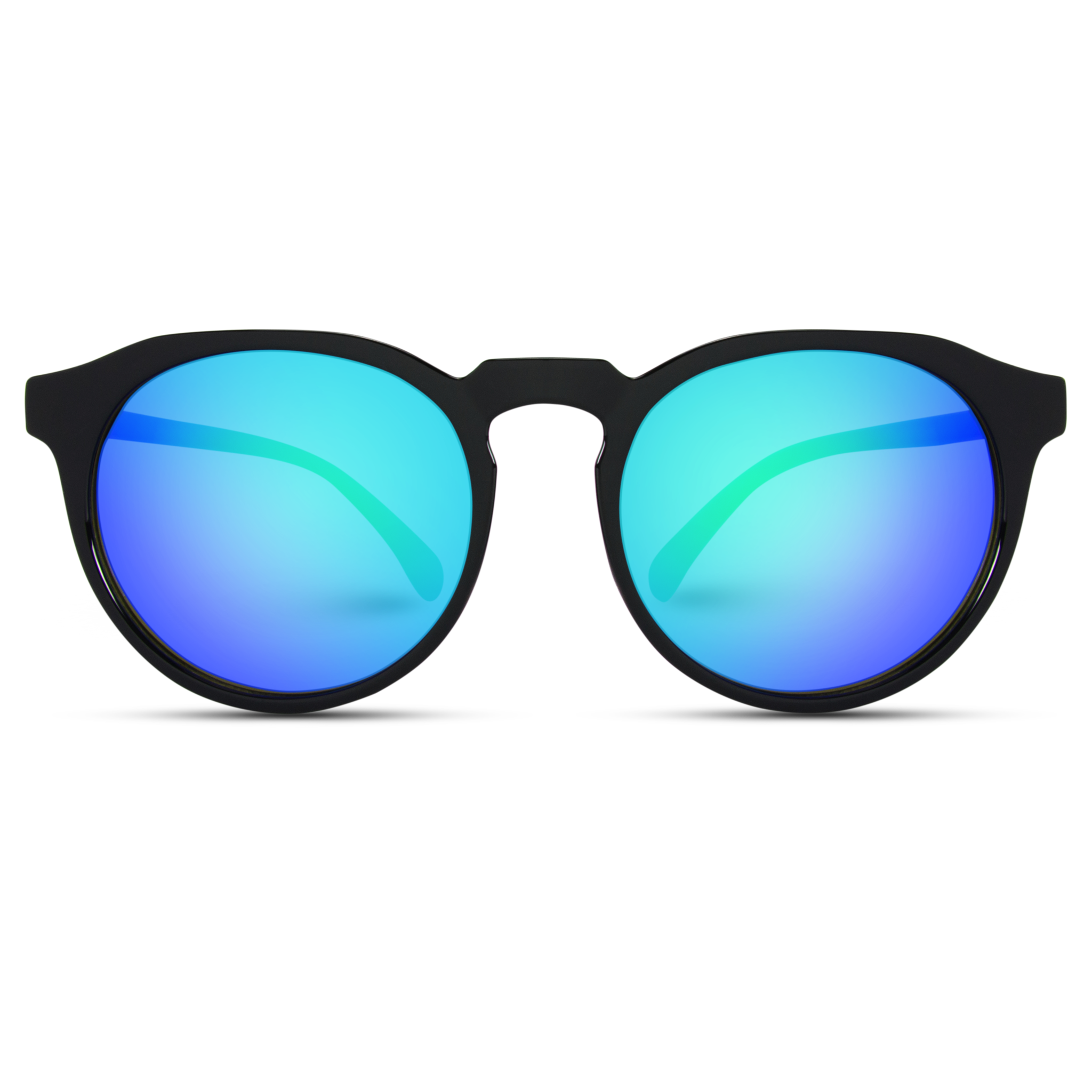 Cameron Round Retro Flat Top Mirrored Unisex Sunglasses Sunglasses Fashion Mirror Sunglass Frames