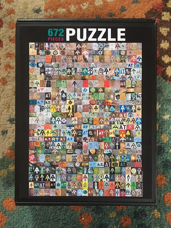 The AT Poster PUZZLE Poster, Puzzle, Frame
