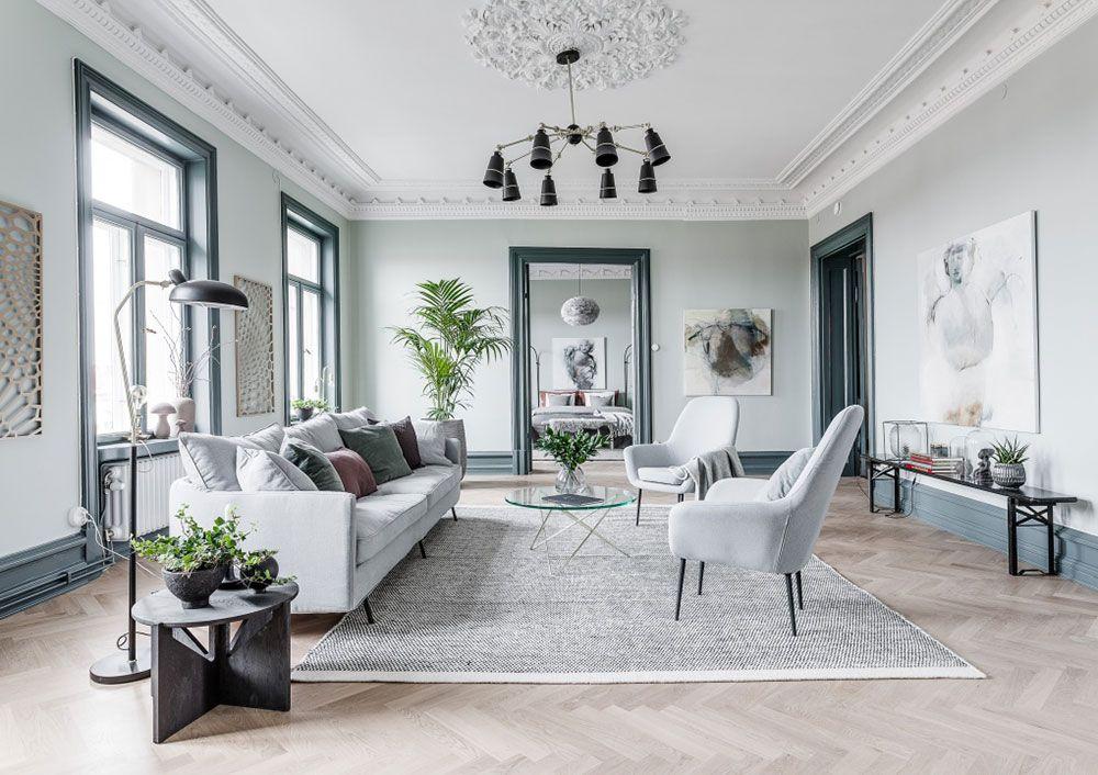 10 Stunning Scandinavian Modern Living Room