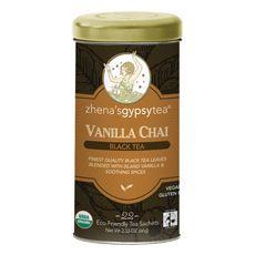 Fair Trade Zhena's Gypsy Tea: vanilla chai #FT