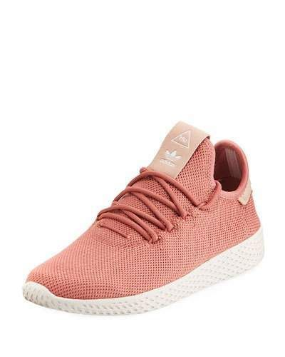 1529ed5cbbc0 Adidas x Pharrell Williams Tennis Hu Sneaker in salmon pink color  afflink   adidas