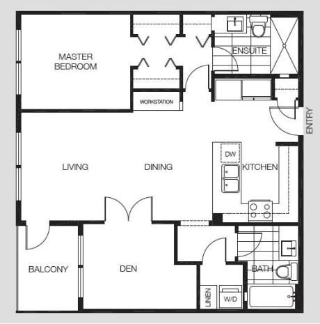 500 Sf House Plan This Efficient Plan Maximizes Every Square Foot As You Enter House Plans How To Plan Small House Plans