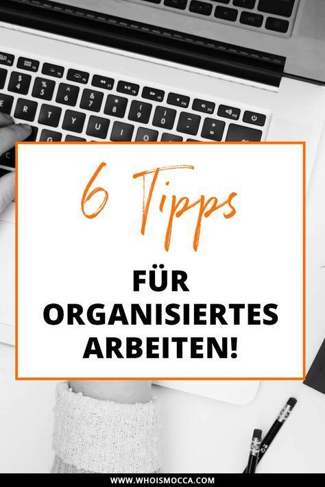 6 Tipps Fur Effizientes Und Organisiertes Arbeiten Im Home Office