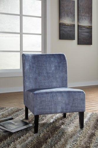 Best Triptis Accent Chair Denim Blue Blue Accent Chairs 400 x 300