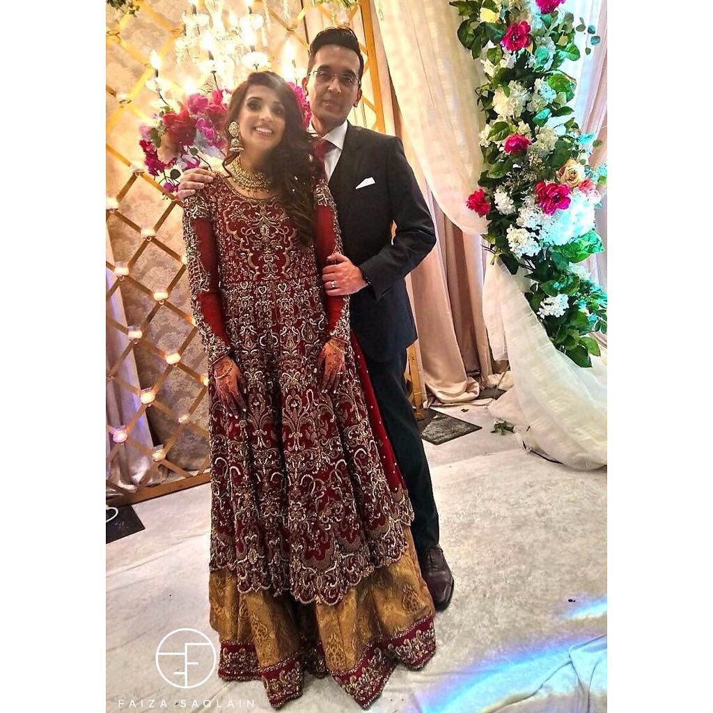 The Uber Cool Reema Strikes A Pose At Her Wedding In FaizaSaqlain