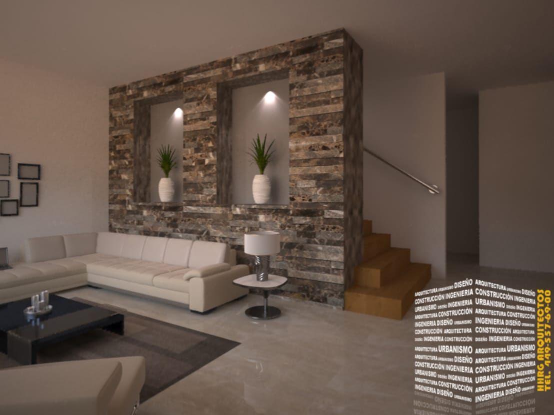 Para a sua sala 16 ideias para revestir as paredes com - Decoraciones de casas modernas ...