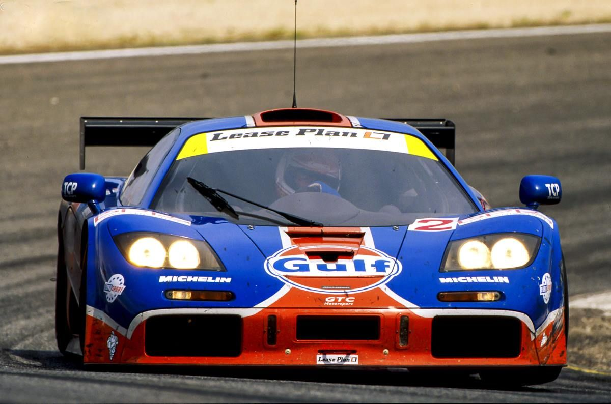 RAY BELLM / James Weaver McLaren F1 GTR 12R Vencedores
