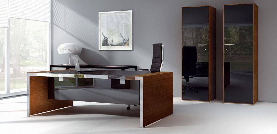 italian chairman office desk iponti by abbondi designer marco galimberti - Designer Executive Desk