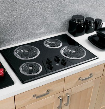 30 Coil Electric Cooktop With Four Heating Elements Upfront Controls Amazon Best Buy Homeappli Kitchen Cooking Appliances Electric Cooktop Cooktop
