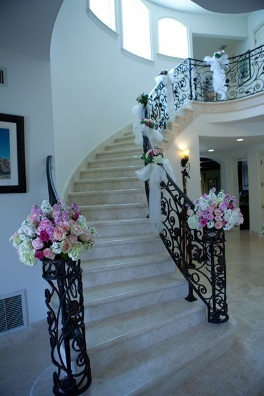 Pre Wedding Home Decoration Wedding Staircase Table