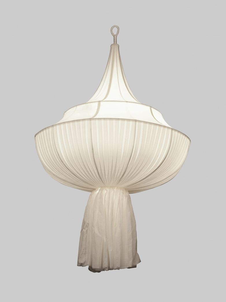 Chandelier medium white l i g h t i n g pinterest white silk chandelier medium white arubaitofo Gallery