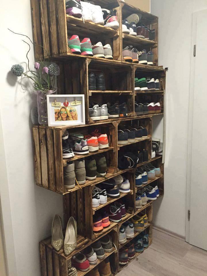 Schuhregal hnliche projekte und ideen wie im bild for Schuhschrank obi