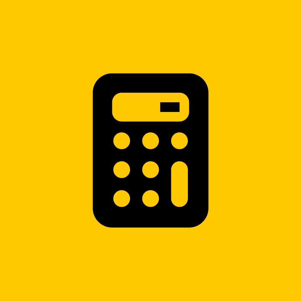Calculator Icon by ikono.me Icon design, Icon set, Icon