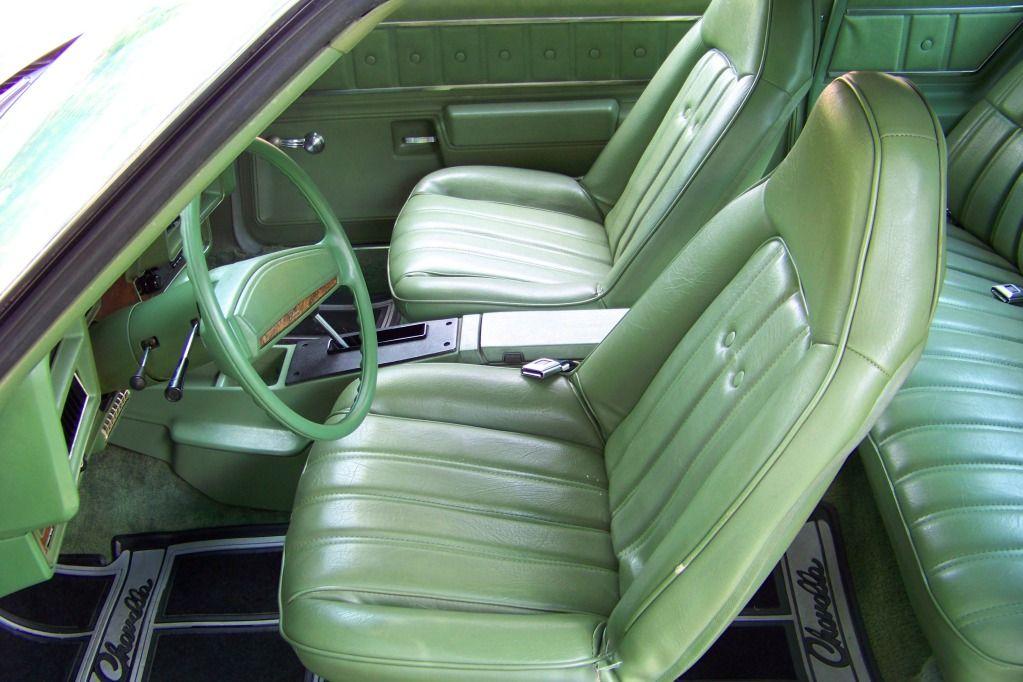 1974 Chevelle Malibu Classic Swivel Bucket Interior Car Interior Classic Cars Antique Glass