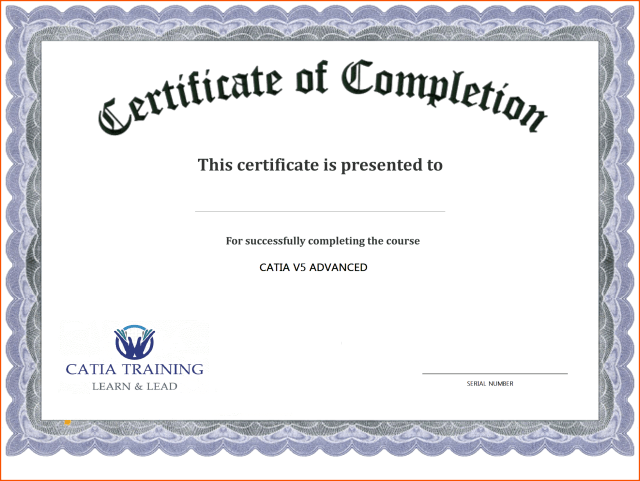 graphic about Free Printable Certificate of Completion named Certification Template No cost Printable - Totally free Down load Bogus