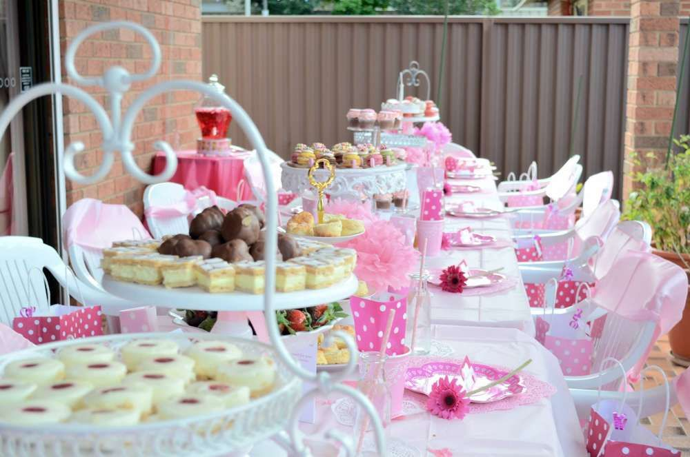 Melina S Pamper High Tea Party Birthday Party Ideas Photo 1 Of