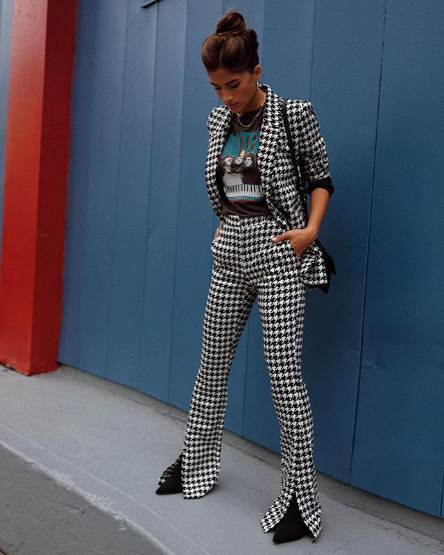 Autumn Winter Fashion Trends | Houndstooth | Patterns