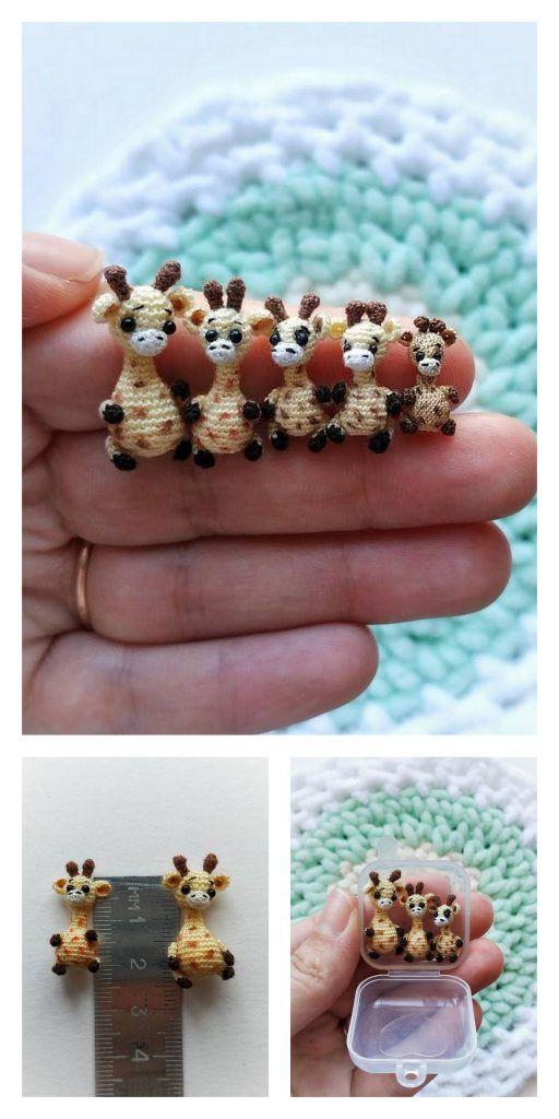 Tiny Giraffe Amigurumi Free Pattern – Amigurumi