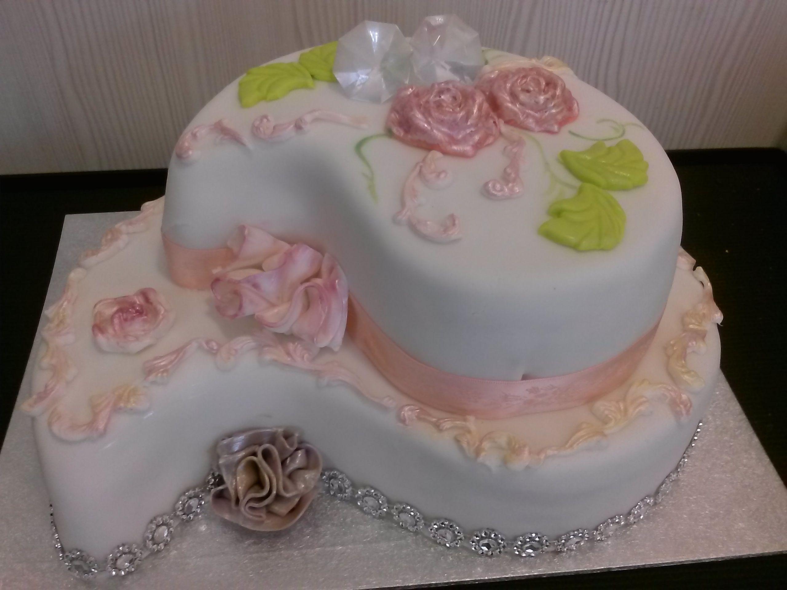 Torte Zur Diamantenen Hochzeit Diamantene Hochzeit