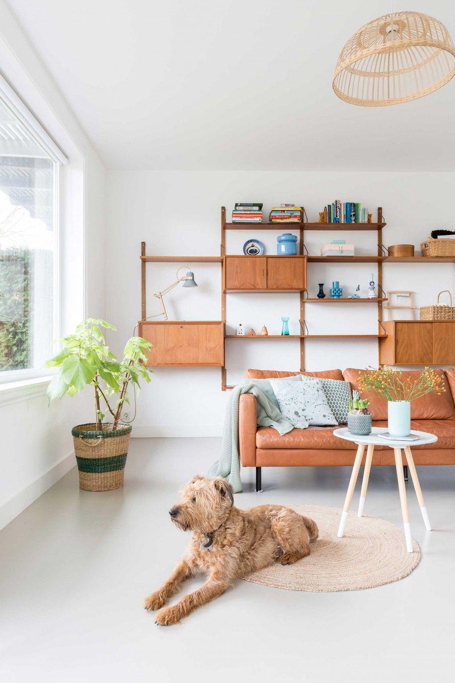 6-woonkamer-vintage-modulekast | STHY - Mooi plaatje, goede sfeer ...