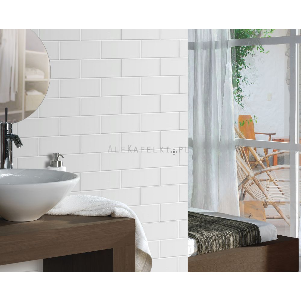 Fabresa Plaqueta Blanco Polysk 10x20 Alekafelki Pl Tiles Decorating Bathroom Marble Effect