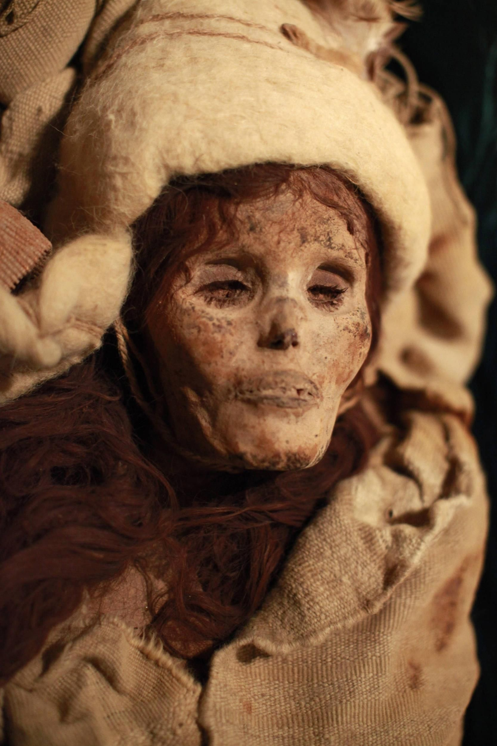 Mystery of the Chinese mummy