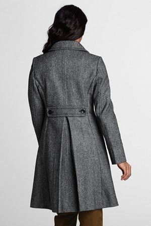 Women's Tweed Coat