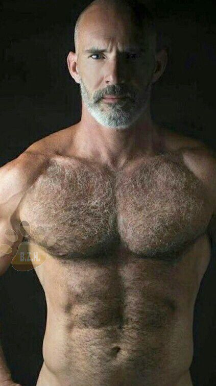 Mature hirsute see-through