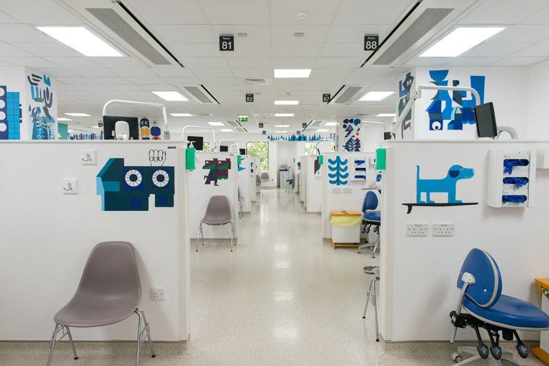 Installation Children's Dental Hospital The Royal London