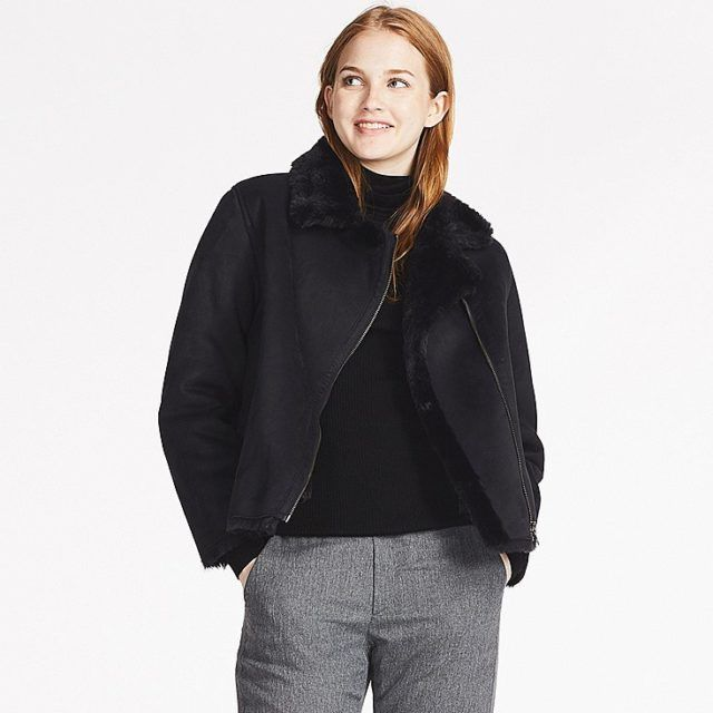 Smart Buy: Uniqlo Faux Shearling Jacket – Closetful of Clothes ...
