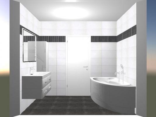 salle de bain sol gris - Recherche Google lakás Pinterest - les photos de salle de bain