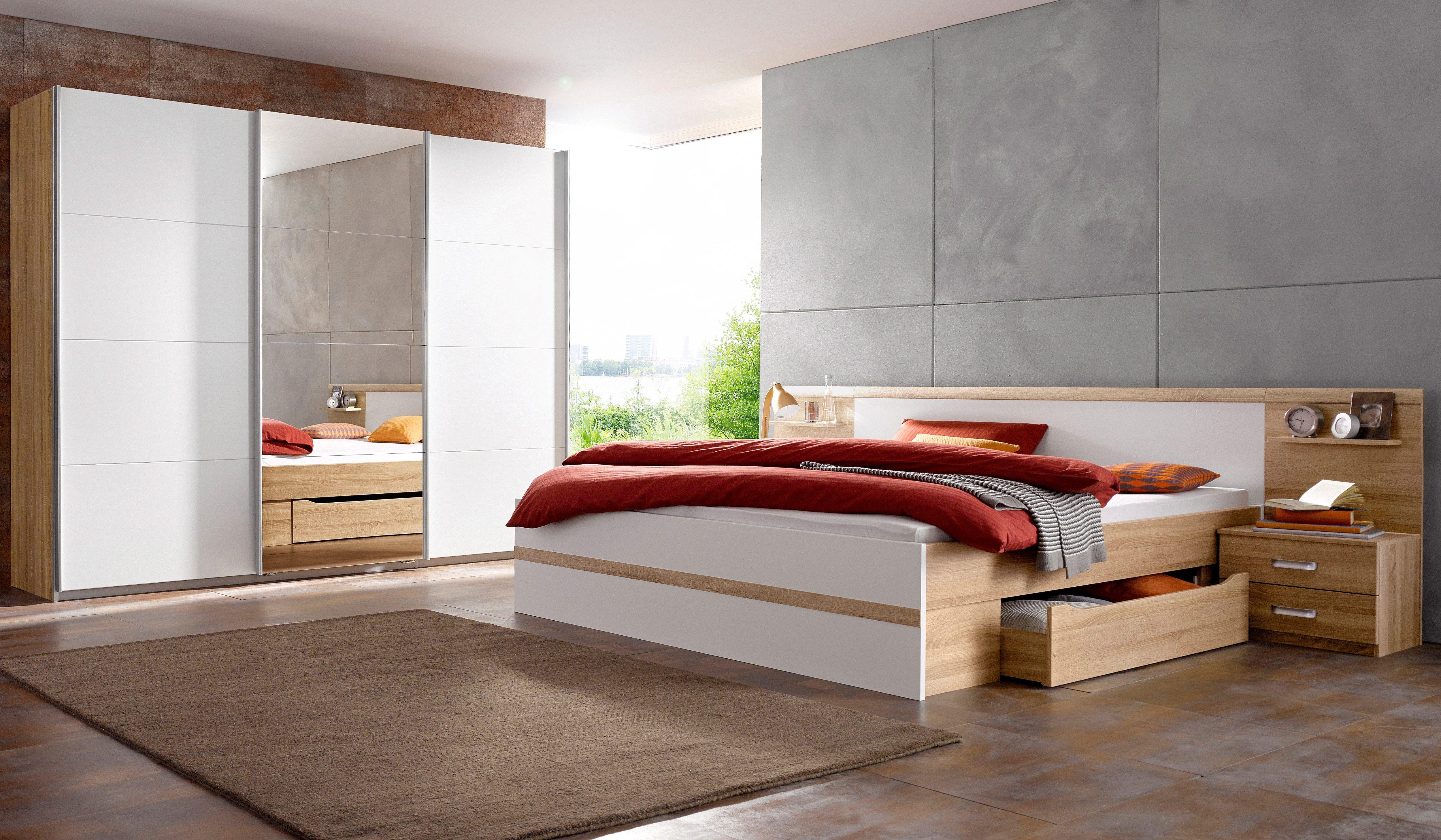Schlafzimmer Rauch ~ Rauch pack`s schlafzimmer set mit schwebetürenschrank tlg