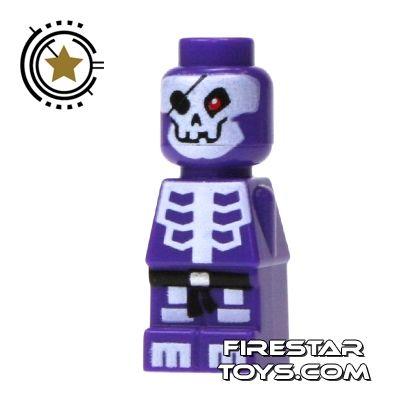 lego purple skeleton   LEGO Games Microfig - Ninjago Skeleton ...