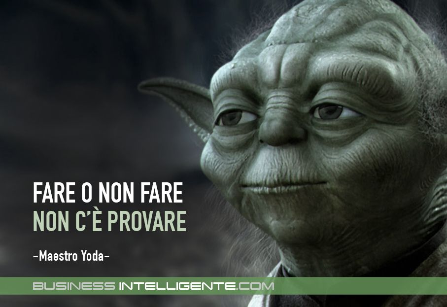 Fare O Non Fare Non C E Provare Maestro Yoda Citazioni
